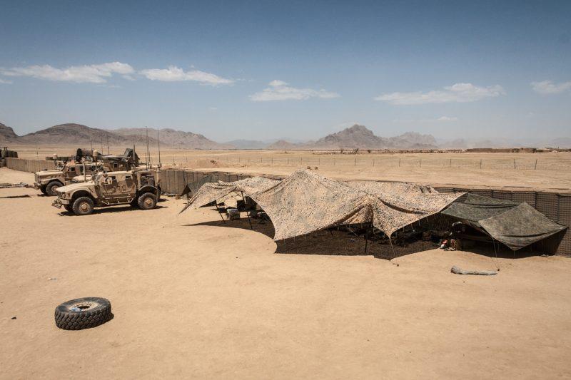 Patrol Base Rogers der US-Marines in Helmand, Süd-Afghanistan. (c) Simon Klingert